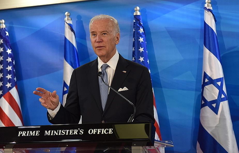 Biden krytykuje Palestyńczyków za brak reakcji na ataki