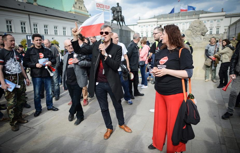W sobotę w Warszawie odbył się protest frankowiczów