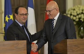 Hollande obiecał pomoc wojskową dla Libanu