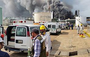 Meksyk: rośnie liczba ofiar wybuchu w zakładach Pemex