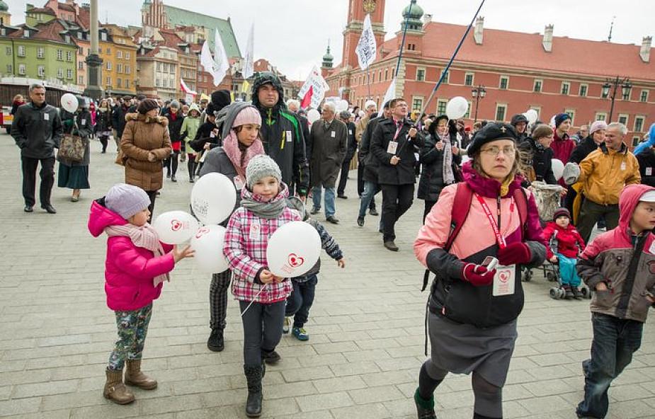 Warszawa: w niedzielę Marsz Świętości Życia