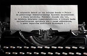 Wobec nacjonalizmu: List do abp. Gądeckiego