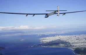 USA: bezpieczny lot samolotu o napędzie słonecznym