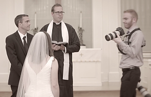 Planujecie ślub? Zadbajcie o dobrego fotografa [WIDEO]
