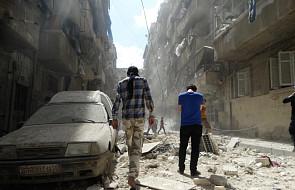 """Ciężkie walki w Aleppo mimo deklarowanej """"ciszy"""""""