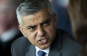Burmistrz Londynu zarzuca Trumpowi ignorancję w kwestii islamu