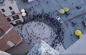 Tańcem promowano ŚDM i spotkanie w Lednicy