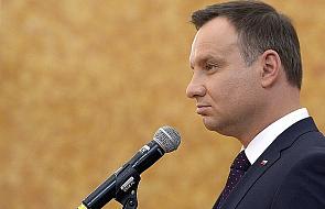 Duda: bez przelanej polskiej krwi nie byłoby UE