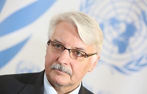Szef MSZ złożył życzenia z okazji Dnia Polonii