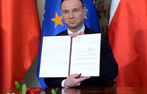 Prezydent podpisał inicjatywę legislacyjną