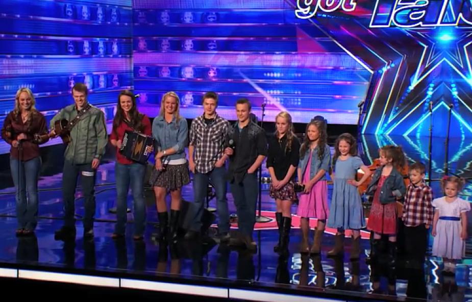 12 sióstr i braci zachwyca publiczność Mam Talent! [WIDEO]