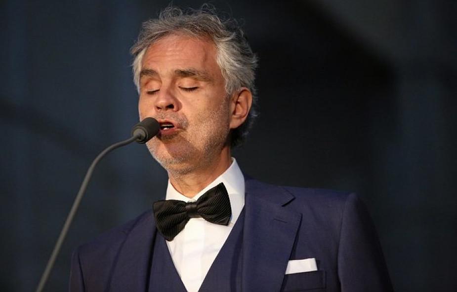 Kraków-Łagiewniki: Bocelli zaśpiewał dla rodzin