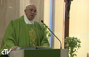 Papież: służba jest cechą chrześcijaństwa