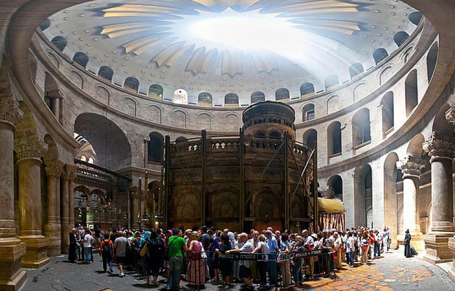 Jerozolima: start remontu Kaplicy Grobu Pańskiego