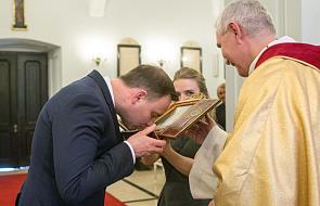 Prezydent otrzymał relikwie św. Andrzeja Boboli