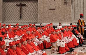 Dwóch kardynałów kończy 80 lat - 112 osób na konklawe