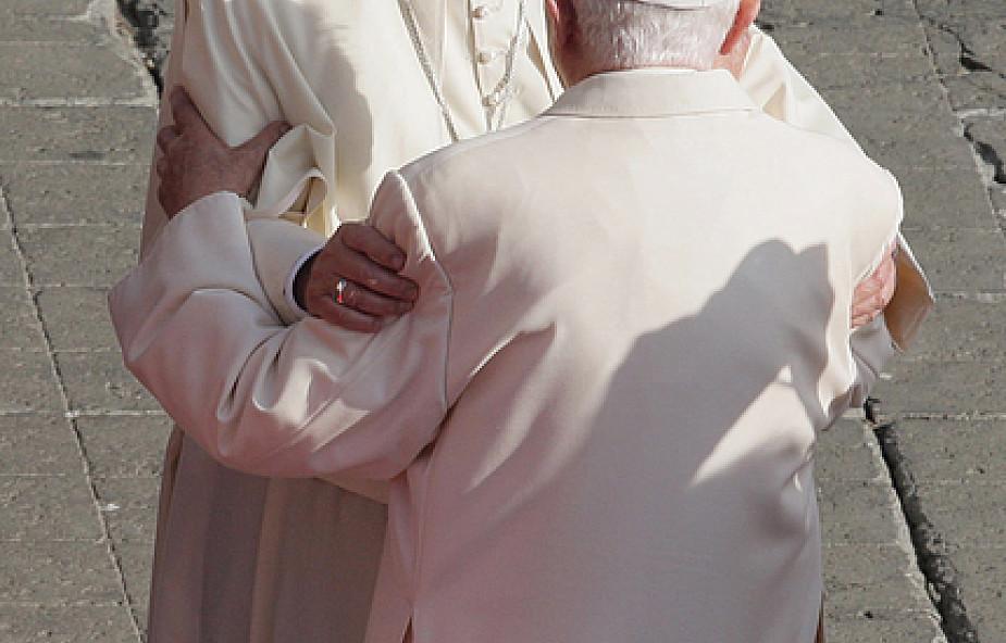 Franciszek na uroczystościach 65-lecia kapłaństwa Benedykta XVI