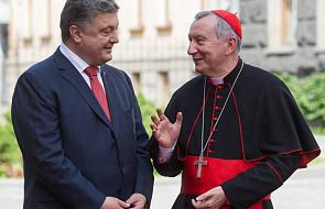 Poroszenko liczy na Watykan w negocjacjach