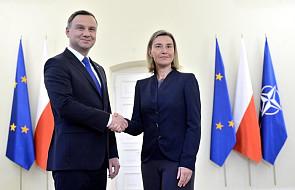 Mogherini: Polska jest bardzo silnym członkiem rodziny UE