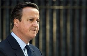 Premier Cameron: ustąpię do października