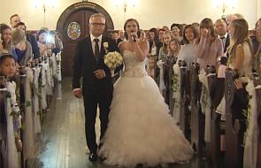 Ślub, który chwyta za serce [WIDEO]