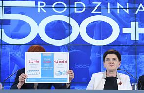 W ramach 500 plus wypłacono ponad 4,1 mld zł
