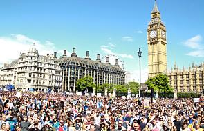 Londyn: protest przeciw Brexitowi
