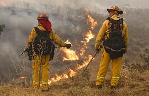 USA: wielkie pożary lasów w pobliżu Los Angeles