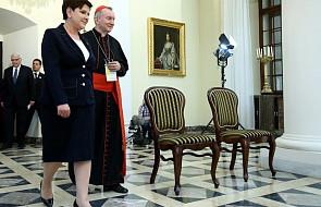 Premier spotkała się z sekretarzem stanu Watykanu