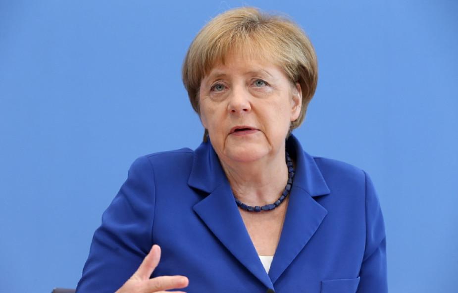 """Merkel: zamachy """"przygnębiające i deprymujące"""""""
