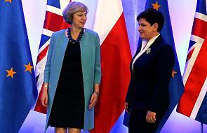Premier Szydło rozmawia z szefową brytyjskiego rządu