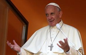 Franciszek nieoczekiwanie pojawił się w oknie papieskim