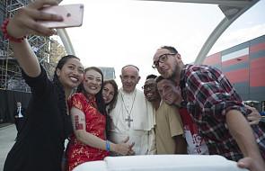 Papież pobłogosławił figurę przyniesioną przez pielgrzymów