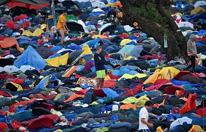 Pielgrzymi na Campus Misericordiae powoli się budzą