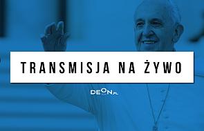 Spotkanie papieża z wolontariuszami [NA ŻYWO]