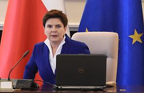 Szydło rozmawiała z Cameronem m.in. o sytuacji Polaków