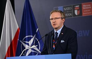 Szczerski: Polska wychodzi ze szczytu NATO wzmocniona