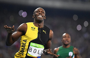 Rio: trzeci z rzędu triumf Usaina Bolta na 100 m