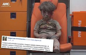 """S. Chmielewska: nie widzę na Facebook'u """"jestem Aleppo"""""""