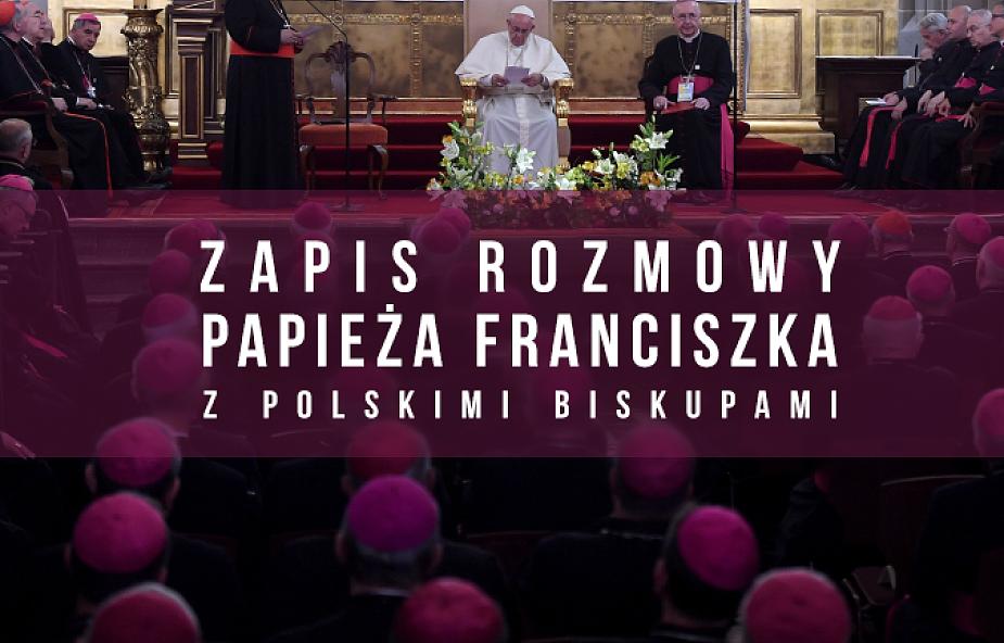 Franciszek odpowiedział na pytania polskich biskupów
