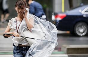 Tajfun Mindulle zaatakował wschodnią Japonię