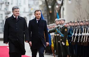 Duda na obchodach 25-lecia niepodległości Ukrainy