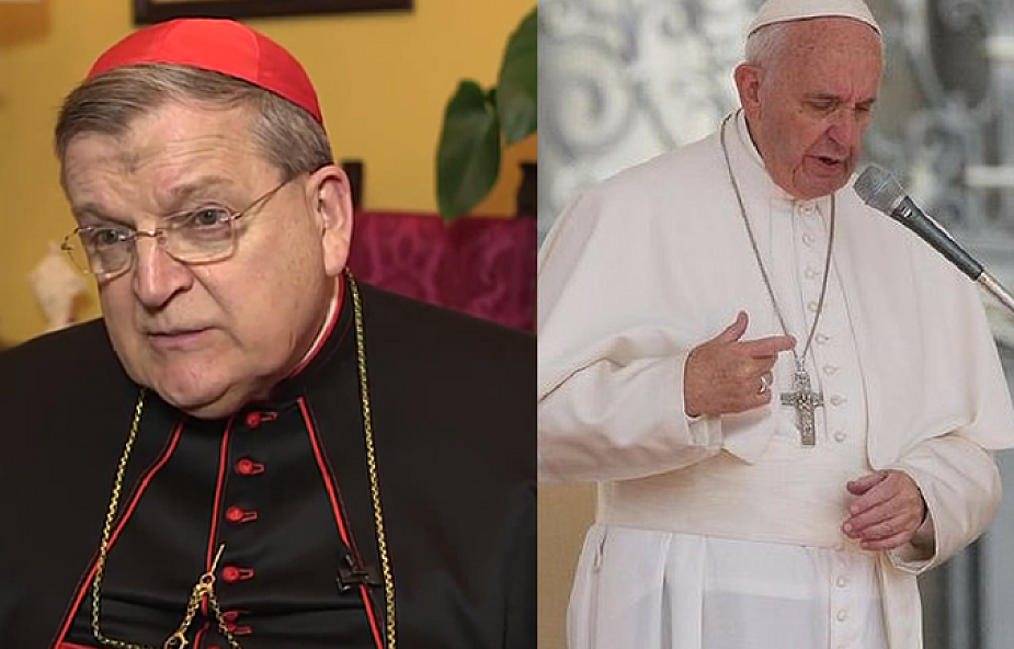 Kard. Burke: nie jestem wrogiem papieża