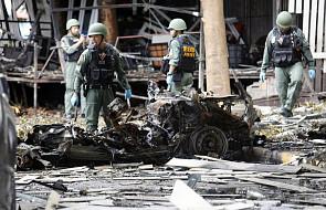 Tajlandia: zamachy bombowe, zginęła jedna osoba