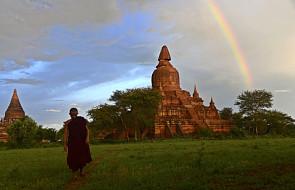 Trzęsienie o sile 6,8 stopni zniszczyło część świątyń w Birmie