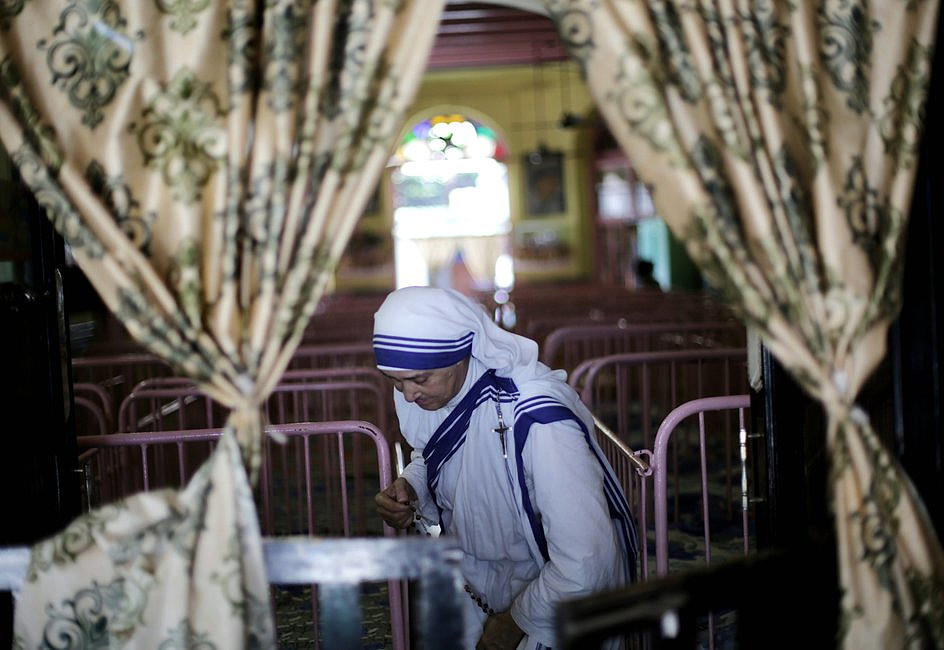 Codzienne życie Misjonarek Miłości w Kalkucie [FOTOREPORTAŻ] - zdjęcie w treści artykułu nr 6