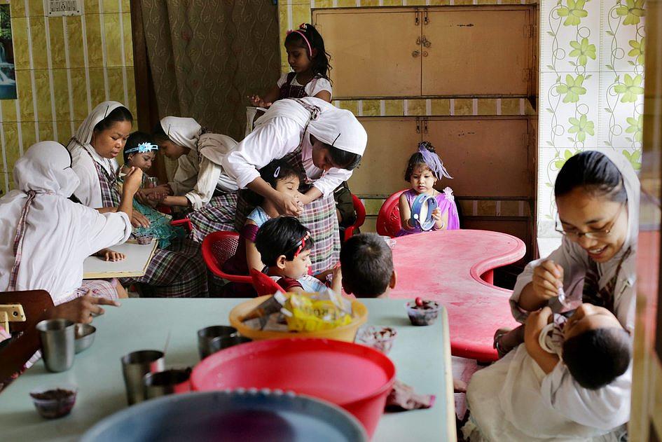 Codzienne życie Misjonarek Miłości w Kalkucie [FOTOREPORTAŻ] - zdjęcie w treści artykułu nr 5
