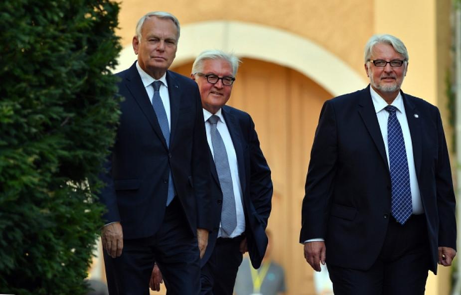 Spotkanie szefów MSZ w 25. rocznicę Trójkąta Weimarskiego