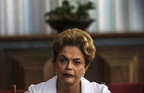 Senat Brazylii przegłosował impeachment Dilmy Rousseff