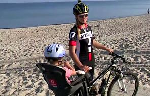 Mama z 3-letnim synkiem pokona 600 km na rowerze